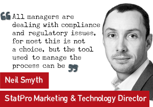 Neil Smyth Technology director how technology can assist regulation and compliance